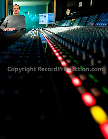 ssl duality at cream recording studios london uk