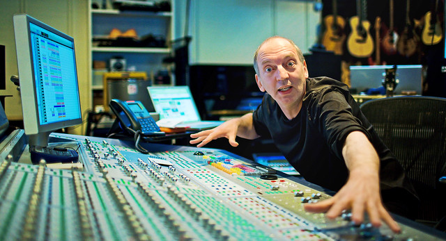 steve lipson record producer at sarm studios uk