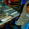 """Recording engineer and record producer Max Heyes at the controls of the mixing desk at Lynchmob Studios, London   ---  Watch our VIDEO interview with Max Heyes:  <a href=""""http://www.recordproduction.com/record-producer-features/max-heyes-producer.html"""">http://www.recordproduction.com/record-producer-features/max-heyes-producer.html</a>"""